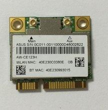 AzureWave AW-CE123H BCM4352 BCM94352HMB Half Mini PCIe  802.11AC 867Mhz Wireless WIFI WLAN Bluetooth Card