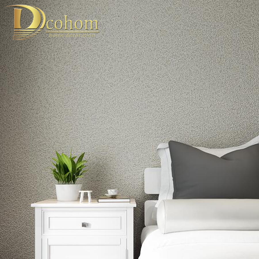 High quality plain textured 3d wallpaper roll modern designer wallpaper for walls bedroom living room papel de parede