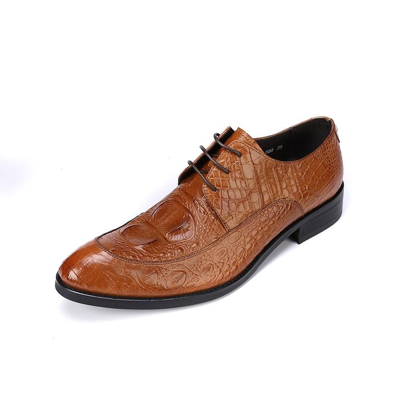 Oficina Boda black Zapatos Brown Formal Calzado red Hombre Genuino Vestido Oxfords Cuero Italiano De Para Diseño Fiesta Z7v1W