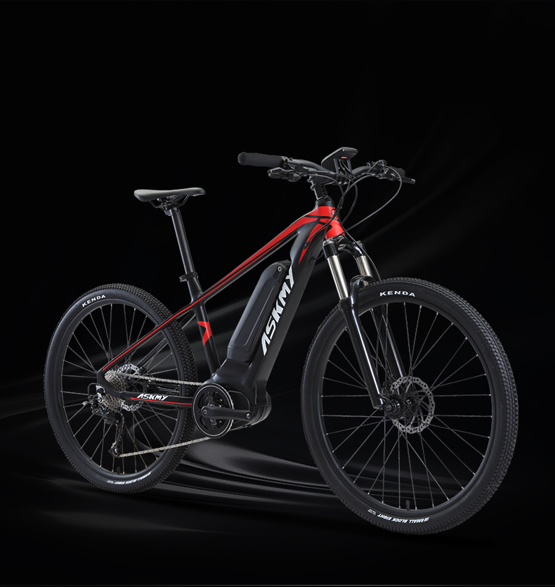 HTB1n33gXznuK1RkSmFPq6AuzFXas - 27.5inch electrical mountian bicycle 36V250W bafang mid-motor Hybrid bike electrical e-bike 9speed EMTB good LCD Off-road bicycle