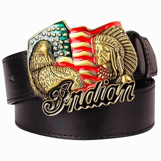 Американский кожаный ремень как застегнуть ремень с автоматической пряжкой