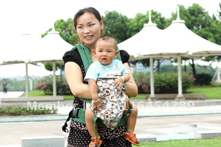 1pcs free shipping Dream baby new winter green cotton baby comfortable carrier/sling