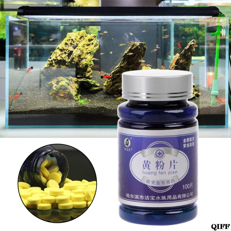 Drop Ship&Wholesale 100pcs Fish Antibiotics Medicine For Injured Rotten Fin Drugs Prevent Infection May28