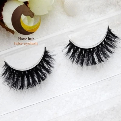 2015 Fake eyelashes horse hair false eyelashes nude makeup natural eye tail slightly long section of a large free shipping