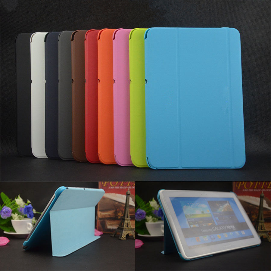 Hot Business Luxury Slim Original Leather Cover BOOK Case For Samsung Galaxy Note 10 1 N8000