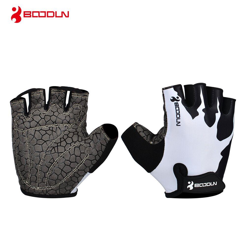 Купить с кэшбэком Boodun Brand 2018 New Women's Fitness Weight Lifting Gloves Men Spring Half Finger Outdoor Sports Gym Breathable Non-slip Glove