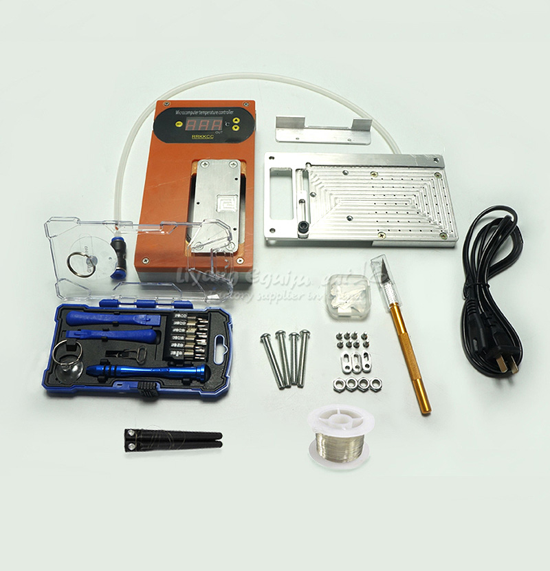 Original 5 in 1 multi-functions mobile repair kit LY IREPAIR universal cellphone LCD repairing aid tools 2 in 1 cellphone