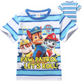 children's Clothing Newest Short Sleeve boys T-Shirts cartoon Patrol boy t shirt for girls nova T-Shirt kids Clothes