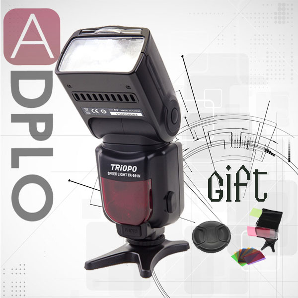 Gift!TRIOPO High performance TR series TR-981 High-Speed Flash Speedlite 1/8000 Suit For Nikon D300 D5100 D80 leonard  yates high performance options