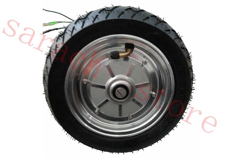 """9"""" 450 Вт 24В сингал вала электрический велосипед мотор ,электрический руль-мотор электрический скейтборд колеса мотор """