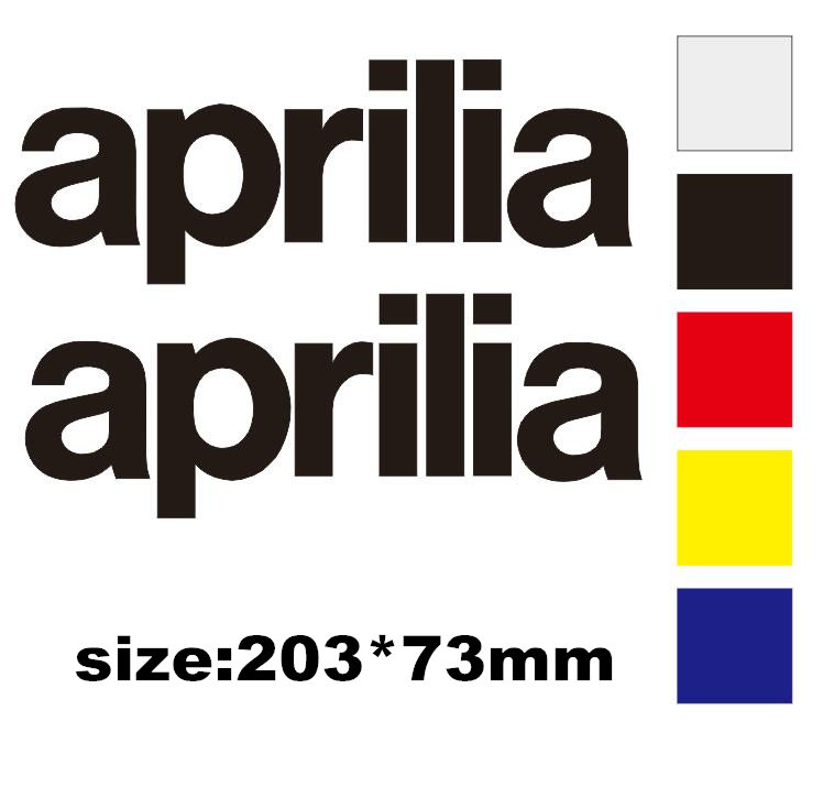 Reflective Sticker Helmet Decorative Motorcycle Sticker  Fit For  Aprilia