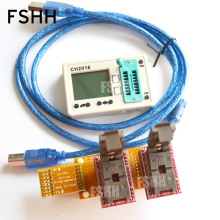 купить Offline programmers CH2016  SPI FLASH programmer+5X6mm QFN8+QFN8 test socket  Production 1 drag 2 programmer  по цене 10097.71 рублей