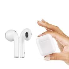 цена I7s Tws Wireless Headphones Mini Bluetooth Headset Three-dimensional Stereo Sport Earphone With Charging Box For Xiaomi sh*