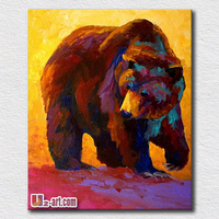 Canvas Picture Orangutan Oil Painting Wild Animal Life Painting On The Living Room Wall Hot Selling