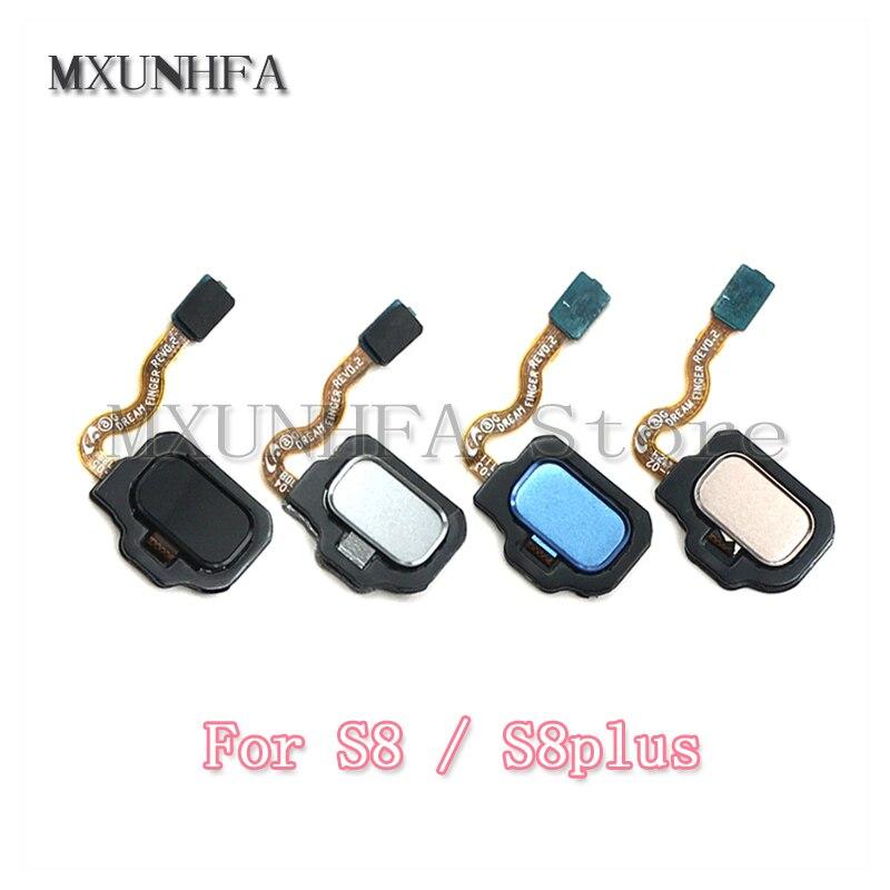 Fingerprint Sensor Home Button Flex Cable For Samsung Galaxy S8 S9 Plus G950f G955f G960F G965F Touch ID Return Key Replacement