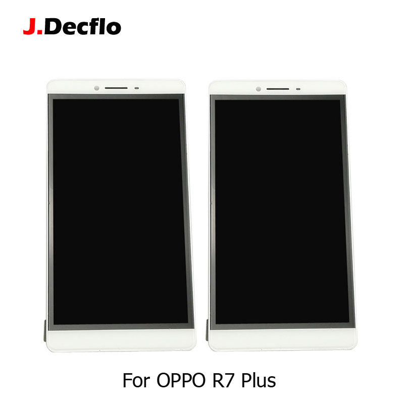 For Oppo R7 Plus R7P Super AMOLED LCD + Touch Screen Digitizer Assembly Replacement Parts Original White 6.0 Inch Without FrameFor Oppo R7 Plus R7P Super AMOLED LCD + Touch Screen Digitizer Assembly Replacement Parts Original White 6.0 Inch Without Frame