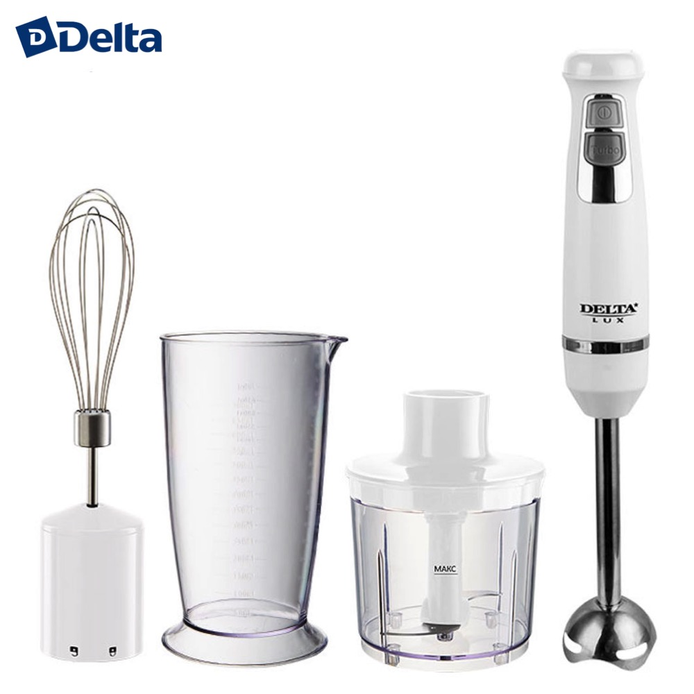 Blenders DELTA 0R-00003886 Blender Kitchen Appliances DL-7041B electric submersible chopper portable hand whisk mixer grinder estel спрей otium prima blonde двухфазный для светлых волос 200 мл