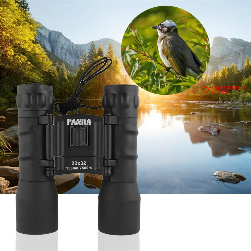 Image 3 - PANDA 22X32 1500M7500M binoculars telescope telescopio binoculo binoculo com visao noturna-in Monocular/Binoculars from Sports & Entertainment