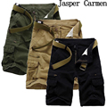 Free shoping boardshorts brand men's casual camouflage loose cargo shorts men large size multi pocket military short pants 65
