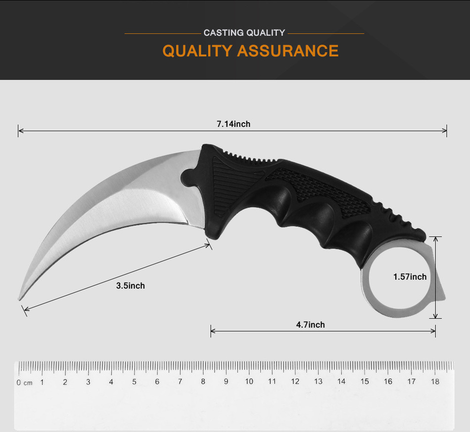 jeslon karambit knife cs go never fade counter strike fighting survival tactical knife claw camping knives for cs gamer - HTB1n367MpXXXXcYXVXXq6xXFXXXv - Jeslon Karambit Knife CS GO Never Fade Counter Strike Fighting Survival Tactical Knife Claw Camping Knives for CS Gamer