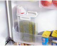 48pcs rice bucket grains cereals plastic jar food storage sealed jar kitchen plastic sealed food storage box tea storage pot