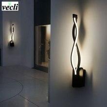 Светодиодный настенный светильник, современный светильник для спальни, настенный светильник для чтения, для помещений, гостиной, коридора, гостиничного номера, освещение, настенное бра, украшение