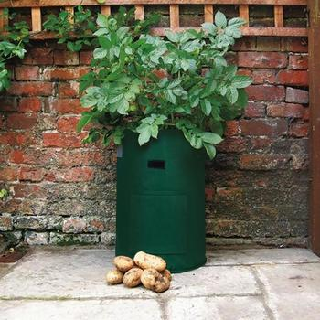 Felt Potato Planting Cultivation Garden Pots Planters Vegetable Planting Bags Grow Bags Farm Garden Supplies Home Accessories zwbra shower curtain