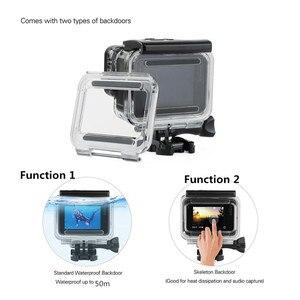 Image 5 - Suptig 50M Underwater Diving Waterproof Housing Case +Open back cover for GoPro Hero2018 Hero 7 Black for Go Pro HERO6 5 Camera