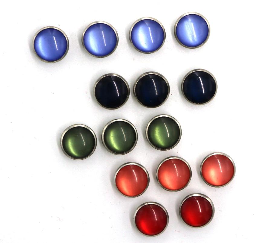 100 компл./лот 12 мм из нержавеющей стали зубец кнопки, детская одежда защиты окружающей среды и Никель-бесплатно экологичный