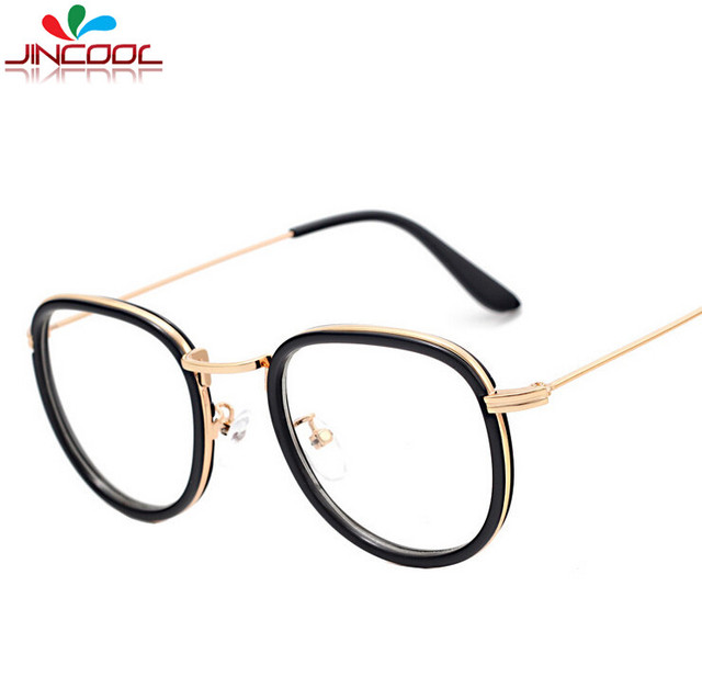 7bef98999f JinCool 2016 Fashion Computer Glasses Women Men Vintage Eyeglasses Optical  Frames Eye glasses Myopic Frame UV400 Oculos de grau