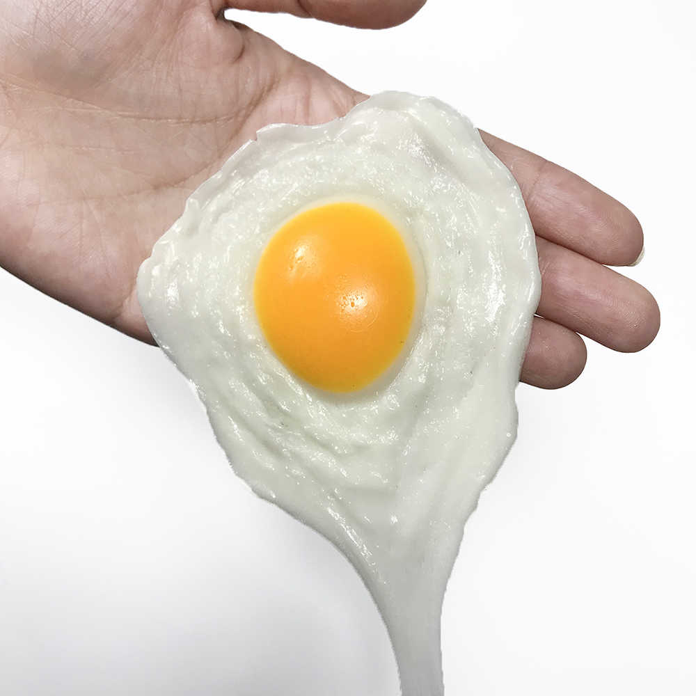 Fake Egg Funny Squishy Toys Prank Antistress Toys for Adults Joke Tricky Toys Mischief Kitchen Toys for Girls Children Kids