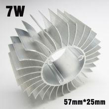 10pcs LED PCB Radiator Cooler, Aluminum Profile Heat Sink For 1W-50W High Power LED Bulb Lamp DIY Accessories