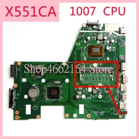 X551CA motherboard REV2.2 For ASUS X551CA 1007CPU Laptop motherboard X551CA X551C X551 Notebook mainboard fully tested