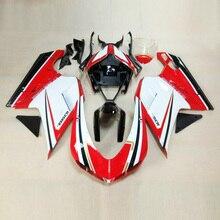 Los planes para personalizar Para Ducati 1098 1198 848 2007-2011 Carenado de moldeo por inyección de Plástico ABS de la motocicleta Kit de Carrocería D19