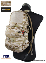 TMC Modular Assault Pack W 3L Water Bladder MOLLE Hydration Backpack Multicam Arid Bag Free shipping
