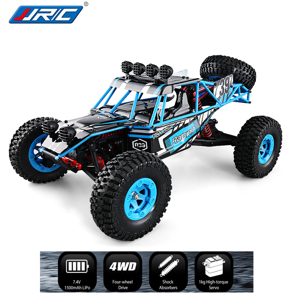 Nuovo JJRC Q39 1:12 2.4g 4WD 40 km/h Highlandedr Short Course Truck Rock Crawler Off Road RC Auto VS q40 WLtoys 12428 REMO 1631 Giocattoli