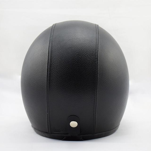 Open Face Motorcycle Helmet