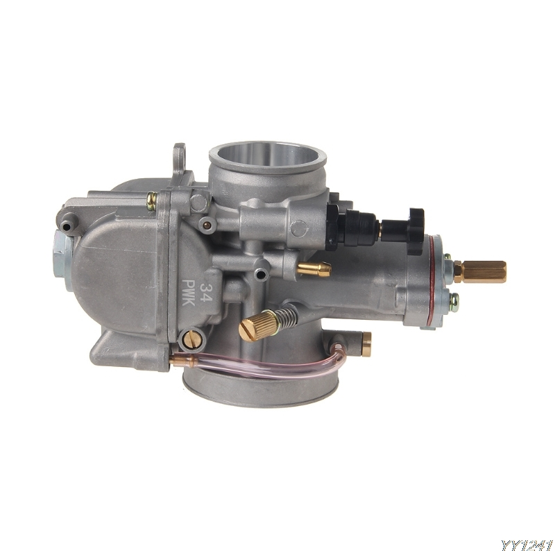 High quality PWK Carburetor Carb 34mm For Keihin Koso OKO Dirt Bike Motorcycle Scooter ATV G6KC in Pumps from Automobiles Motorcycles