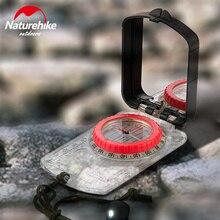NatureHike светящиеся компас ручной Компас с зеркалом анти-шок водостойкий для походов альпинизм