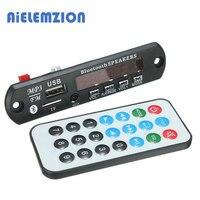 3 개 AiELEMZION 7-12 볼트 자동차 블루투스 MP3 디코더 보드 디코딩 플레이어 모듈