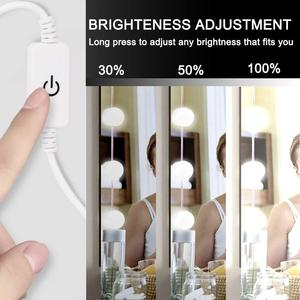 Image 3 - LED 12V Makeup Mirror Light Bulb Hollywood Vanity Lights Stepless Dimmable Wall Lamp 6 10 14Bulbs Kit for Dressing Table
