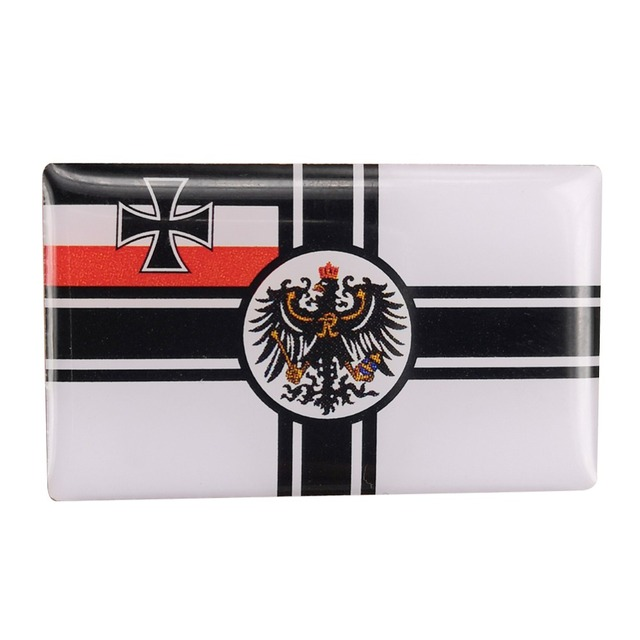 Ww1 Wwi German War Ensign Flag Badge Kingdom Of Prussia Flag Pin