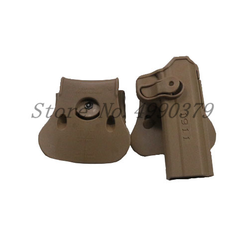 Image 5 - 1911 Holster Tactical Army CQC IMI Colt 1911 Holster Airsoft Military Paddle Pistol Gun Holster Hunting Gun Case Accessories-in Holsters from Sports & Entertainment