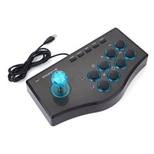 3 In 1 USB Wired Game Controller Arcade Fighting Joystick Stick For PS3 Computer PC Gamepad Engineering Design Gaming Console 2017 hot classic controller with usb gaming gamer joystick joypad for nes windows pc for mac computer game controller gamepad