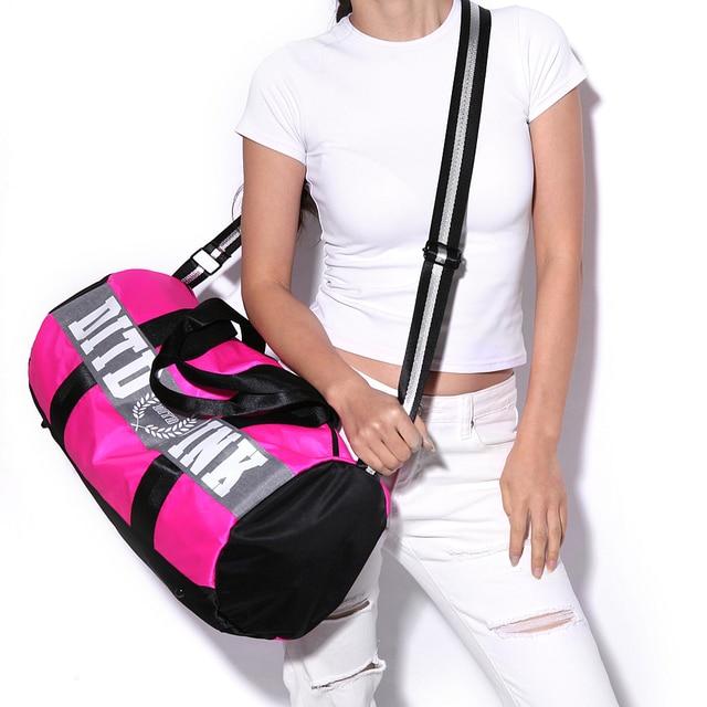 Nylon Outdoor Men Women Multifunction Big Sport Bag Sac De Sport Handbag Fitness Shoulder Gym Bag Hot Female Yoga Mat Duffel Bag