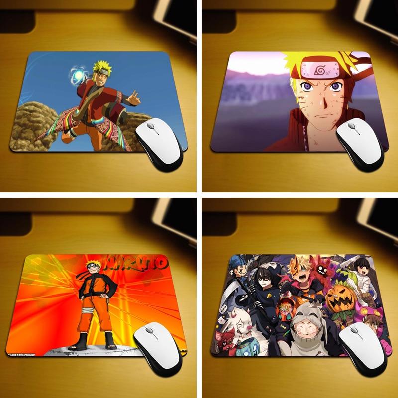 MaiYaCa Juego Naruto Nuevo tamaño pequeño Computadora de escritorio Mouse Pad antideslizante de goma 220mmX180mmX2mm y 250mmx290mmx2mm Mouse Pads