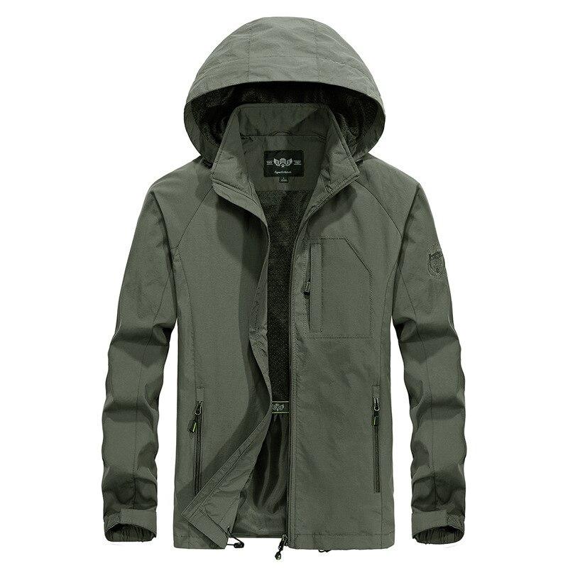 Мужская Водонепроницаемая дышащая куртка размера плюс 5XL, Тонкая Повседневная армейская тактическая ветровка на весну и осень|Куртки| | АлиЭкспресс