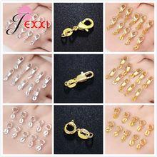 Застежки карабины для ожерелья браслета серебра 925 пробы 10