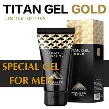 2Pcs Russian Titan Gel Gold , Big Dick M