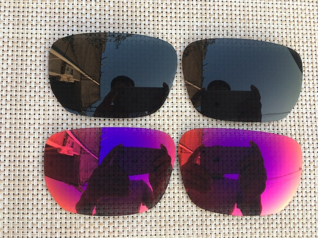 01a4e52ea9 black   purple red Polarized Replacement Lenses for Style Switch Sunglasses  Lens Only-2 Pairs
